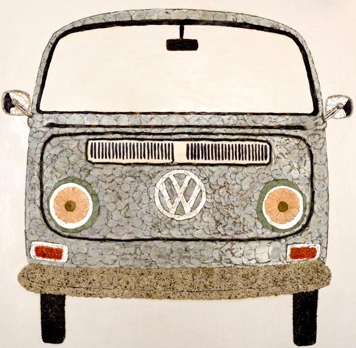 """""""Cotton"""" the VW Bus"""