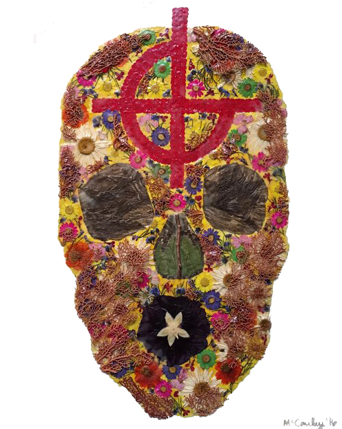 """""""Artists Against Arms"""" / Skull"""