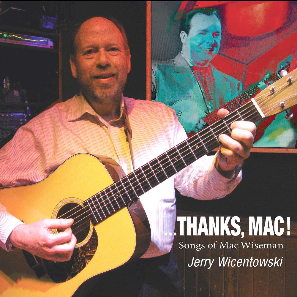 """""""Thanks, Mac!"""" album cover"""