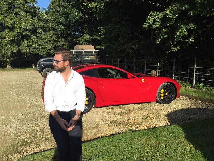 Mr JWW Ferrari F12