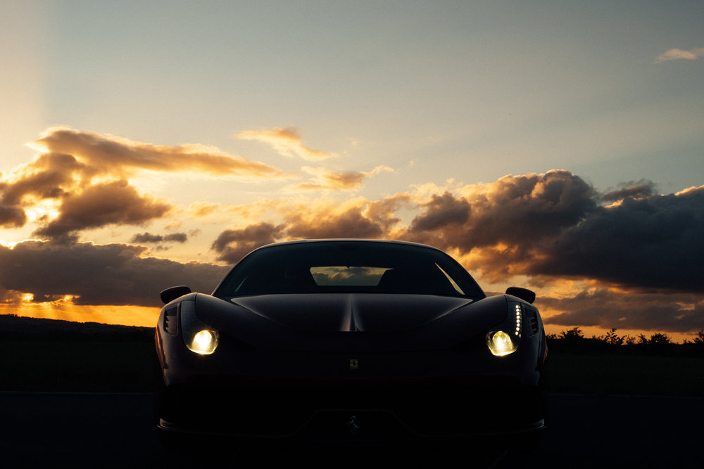 Ferrari 458 Speciale | Collection Day Sunset | UK