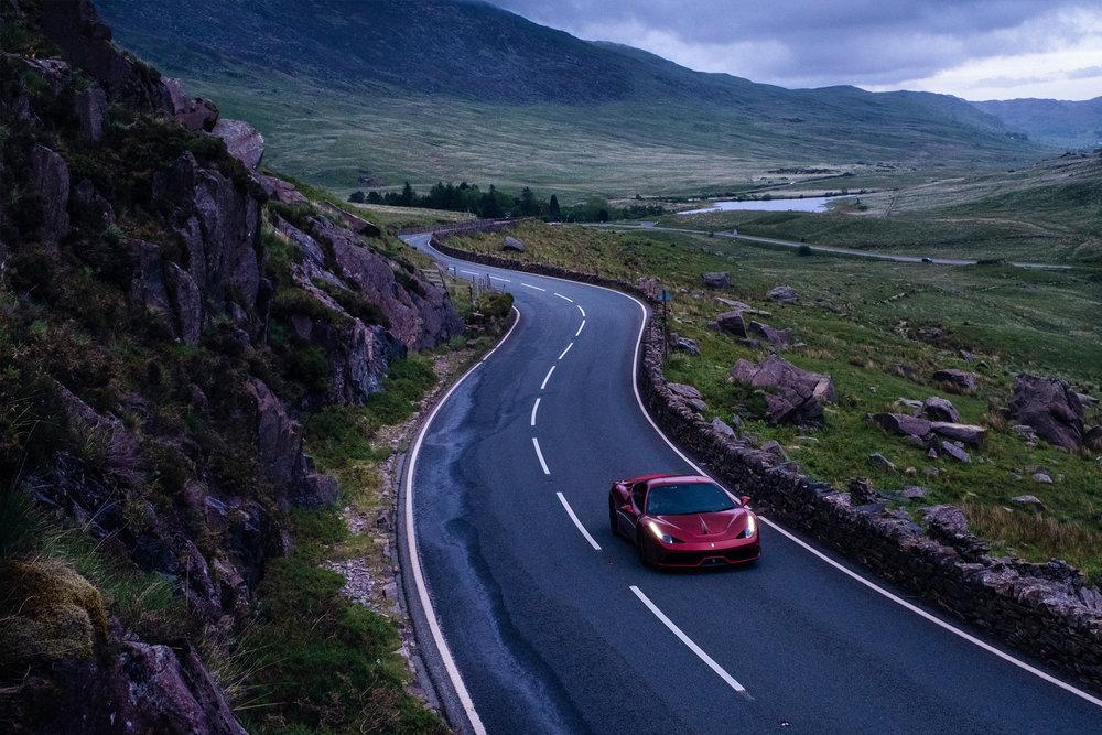 Ferrari 458 Speciale | Snowdonia | Wales | UK