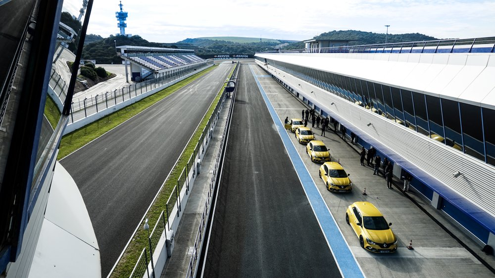Renault Megane RS Track Day