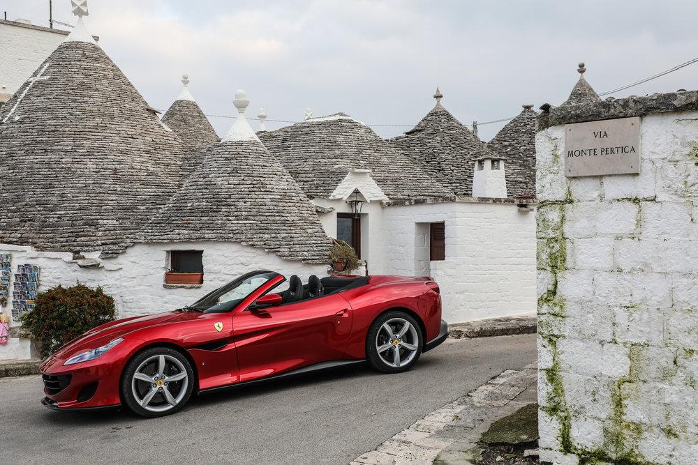 Ferrari Portofino Puglia Italy