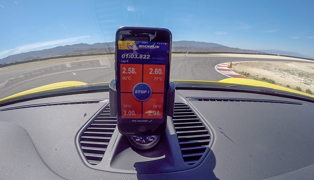 Michelin Connected Tyres App