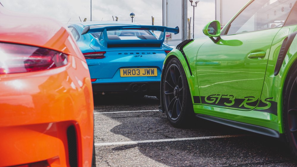 Porsche GT3's | Scotland | U.K.