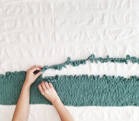 KNIT BLANKET WORKSHOP