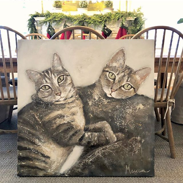 This long over due commission is in route to its new home in Texas🐱🐱