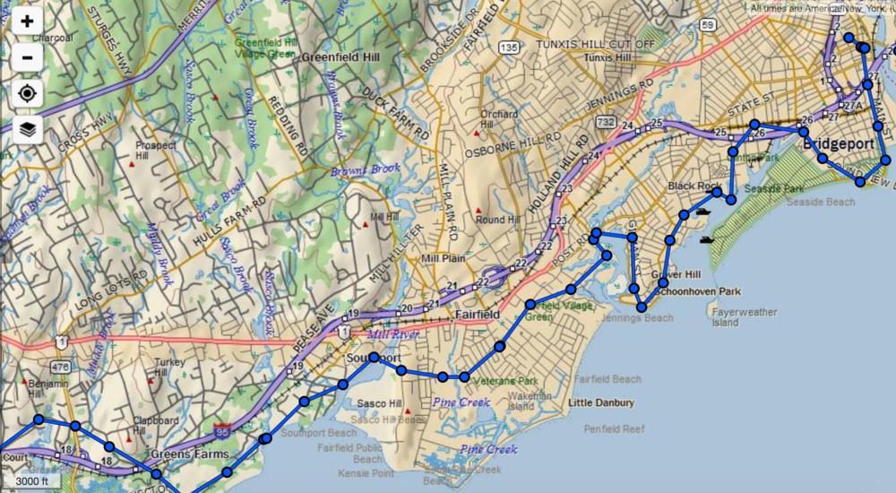 Map Westport Bridgeport.png