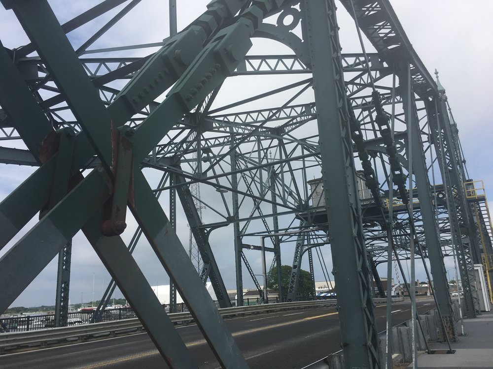 The bridge from New Bedford to Fairhaven