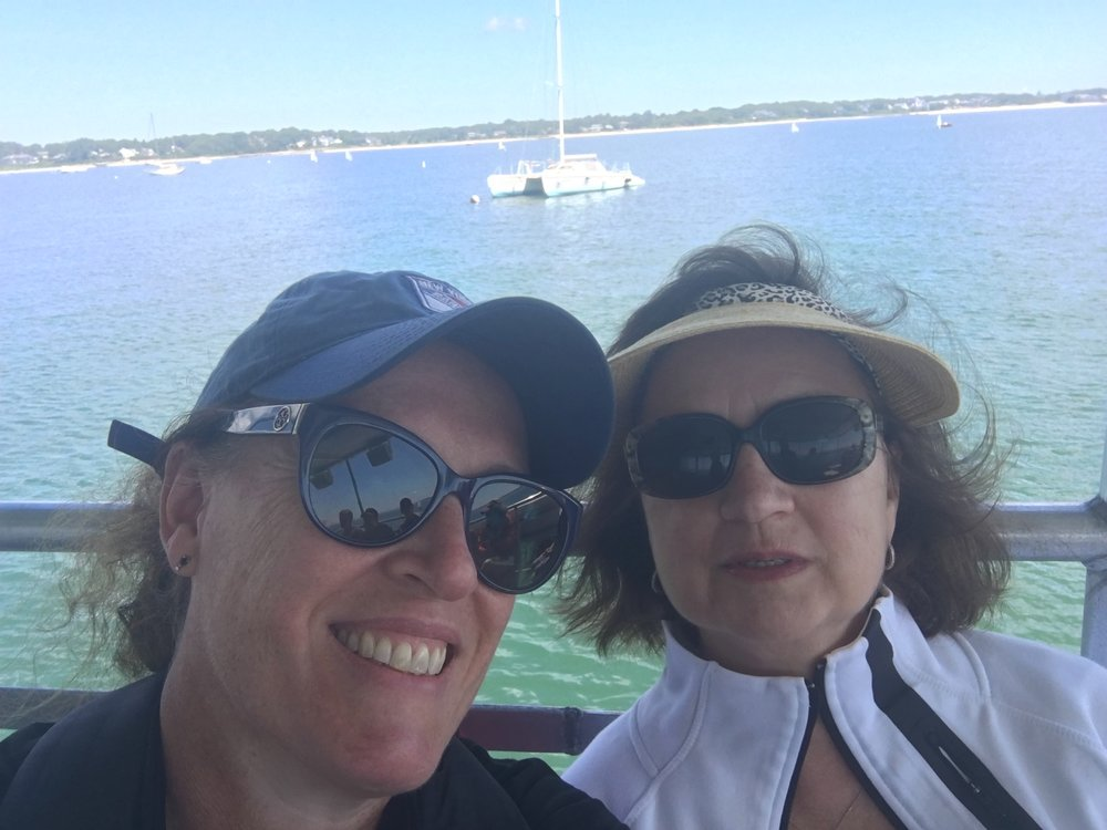 Harbor tour with Terrie