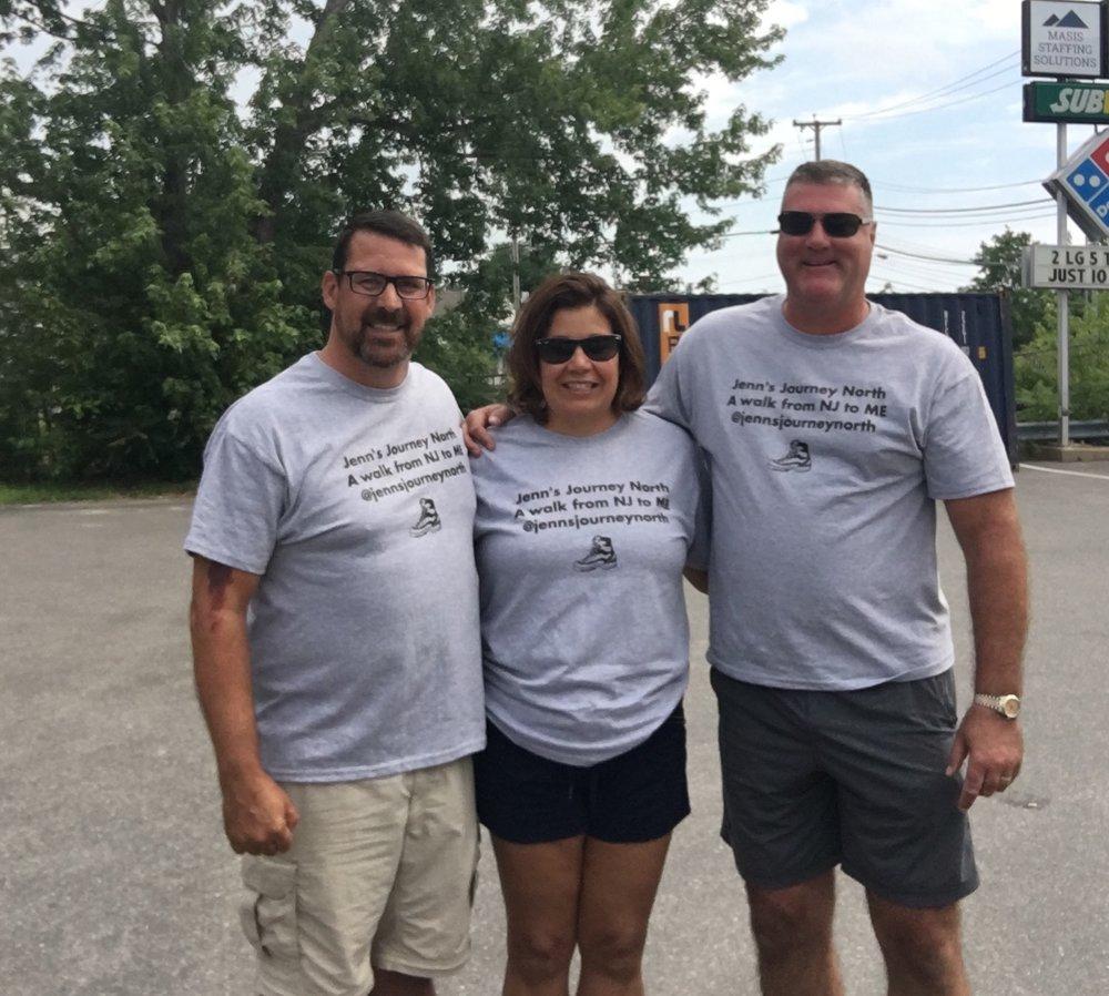 Dan, Kelly and Jim