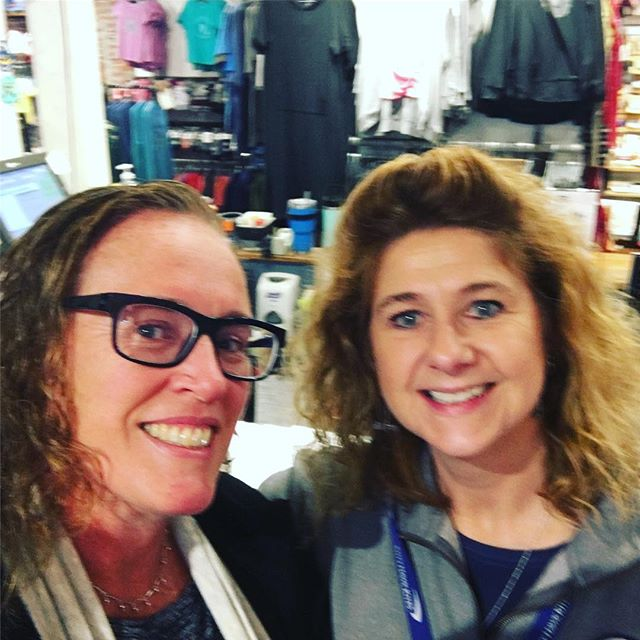 Popped into @lifeisgoodco in #portlandmaine and ran into my buddy Kathi! Took her off guard, then chatted for a bit! Say hello if you stop in to shop! @lifeisgoodportland