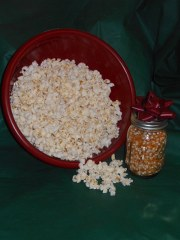 The 2017 Popcorn harvest is ready for your enjoyment.  YUMMY!