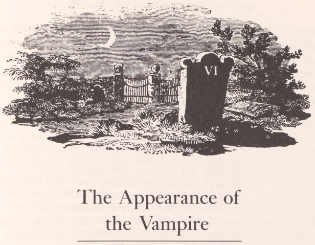 Chapter heading illustration, from Paul Barber's  Vampires Burial and Death: Folklore and Reality , 1988.