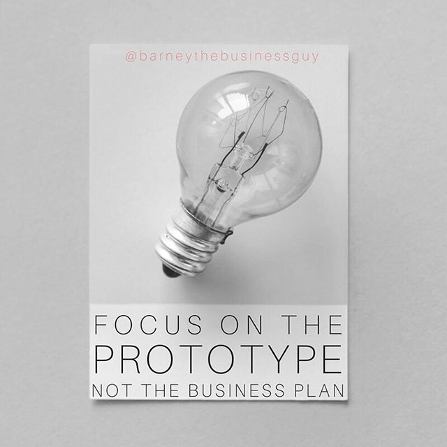 This is one of the best pieces of advice that I can give to an entrepreneur. A lot of people who want to start a business get really distracted with the idea of writing a business plan. The truth is, making a sale is the most important thing to focus on as a startup, and a greY product will help you to make a sale a lot faster than a great business plan will.