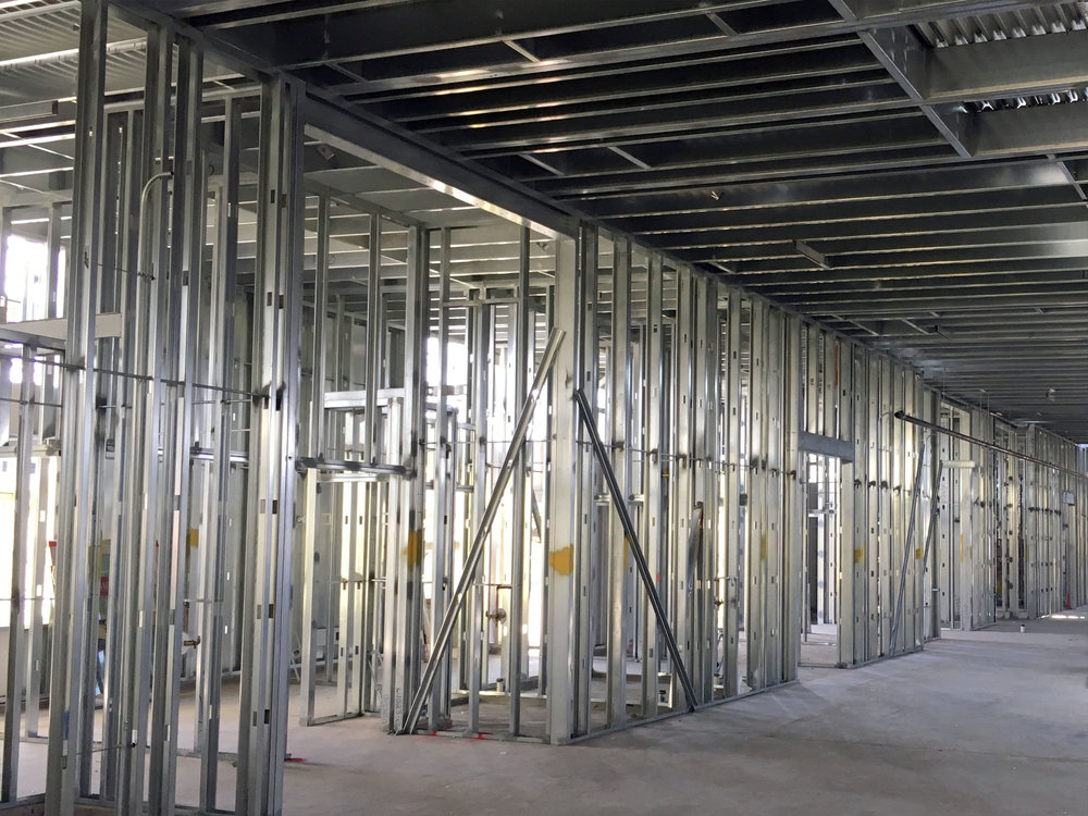 Load-bearing CFS Structures -