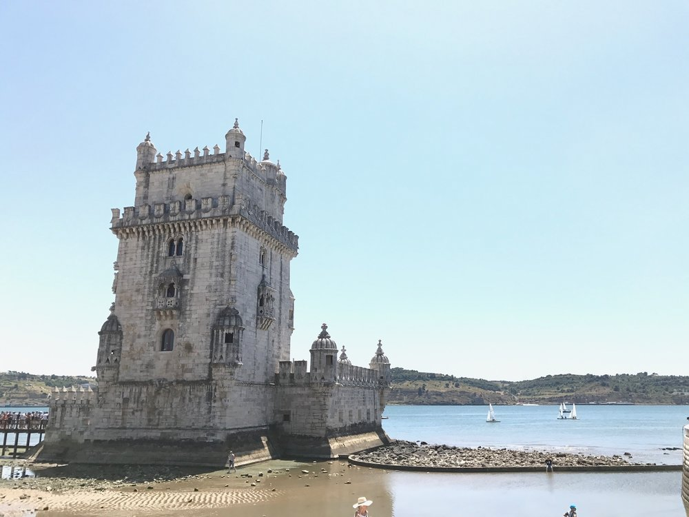 belém tower - probably cool to go inside, minus the throngs of tourists.