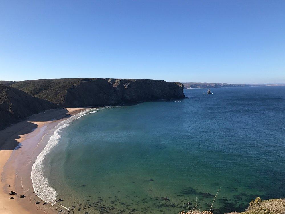 Praia da Arrifana - a surfer's paradise