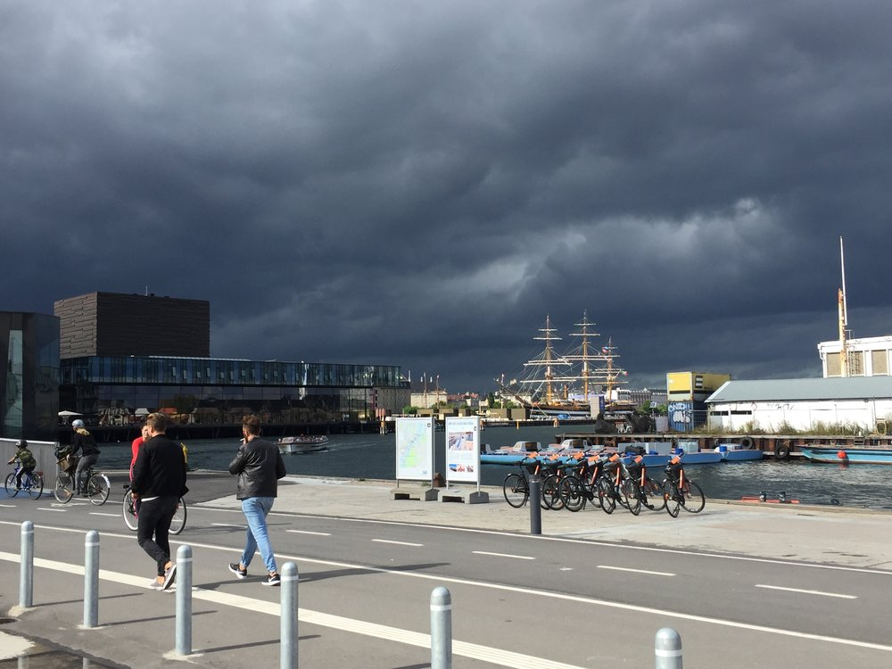 inderhavnsbroen - A view towards Skuespilhuset (Royal Danish Playhouse)