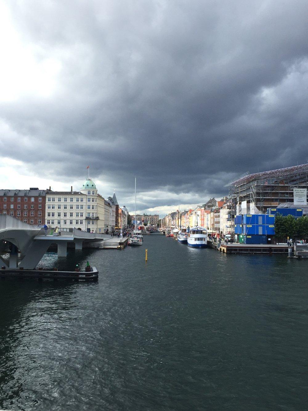 kobenhavn havn - largest seaport in Denmark.