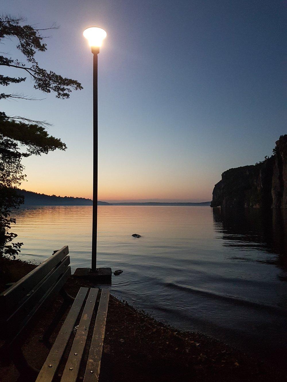 Bon Echo Provincal Park, Mazinaw lake.