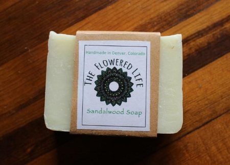 All natural organic Soap by The Flowered Life - Holiday gift guide by Adventuring of a Small Town girl.JPG