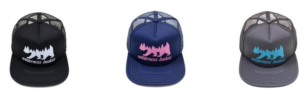Wilderness badass truckers hat - Holiday Gift Guide for her by Adventuring of a Small Town Girl.jpg