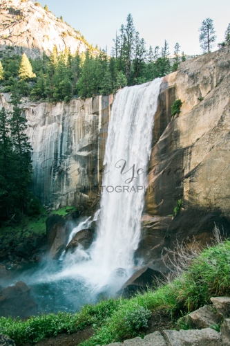 California National Parks List by Adventuring of a Small Town Girl - Yosemite National Park Vernal Falls