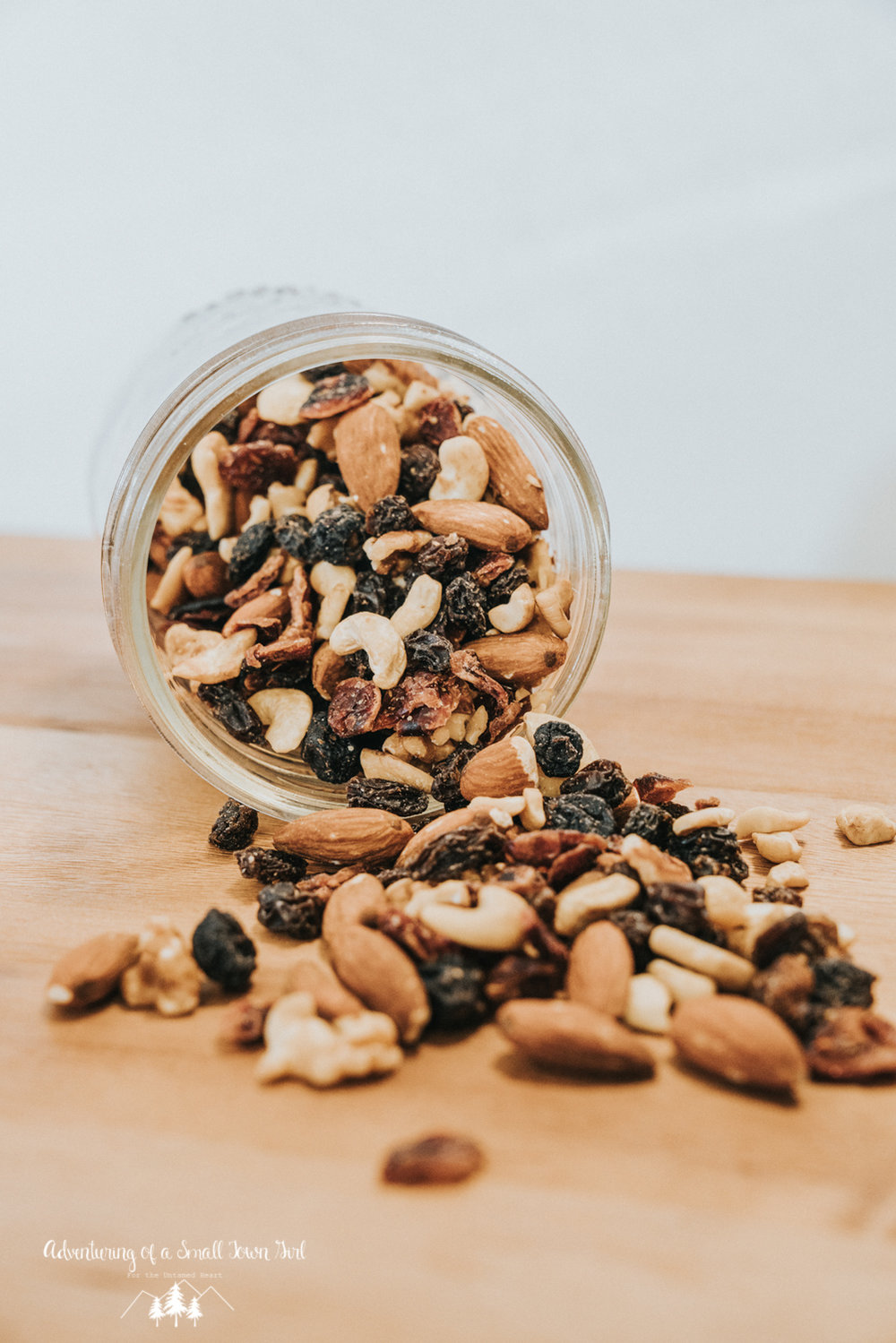 Homemade Trail Mix Recipe by Adventuring of a Small Town Girl (ASTG) - No Bake Raw Vegan Trail Mix - Make your own trail mix-4.jpg