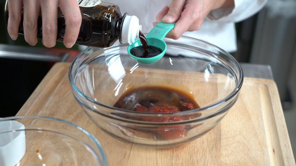 step 1 cont'd worcestershire sauce