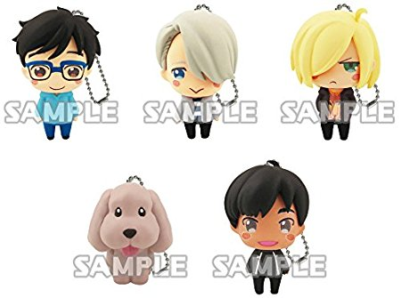 yuri on ice keychains.jpg