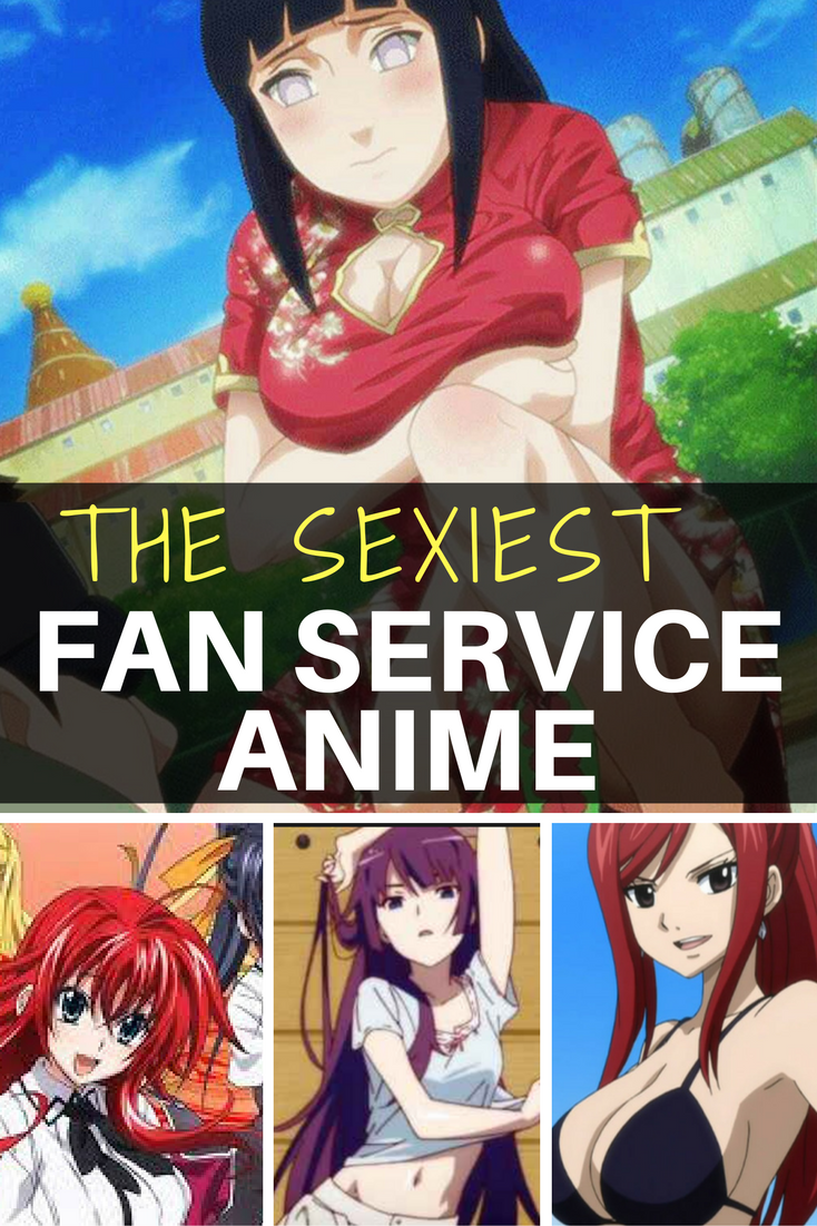 The sexiest fan service anime png