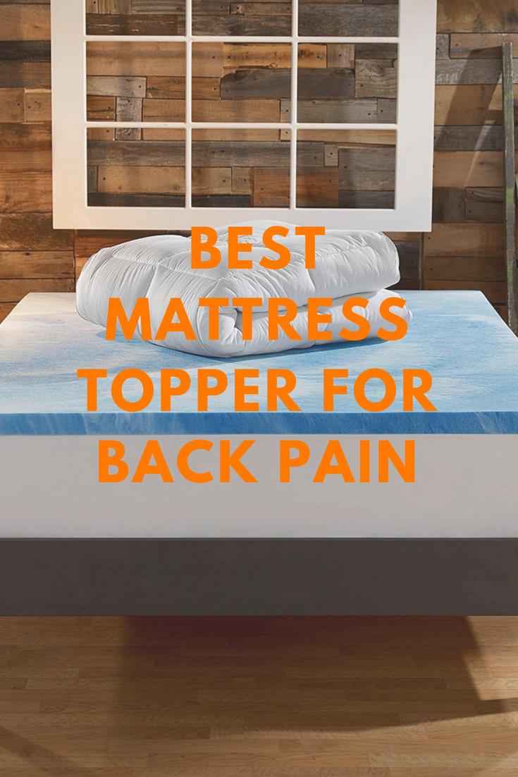 Best Mattress Topper For Back Pain Anime Impulse