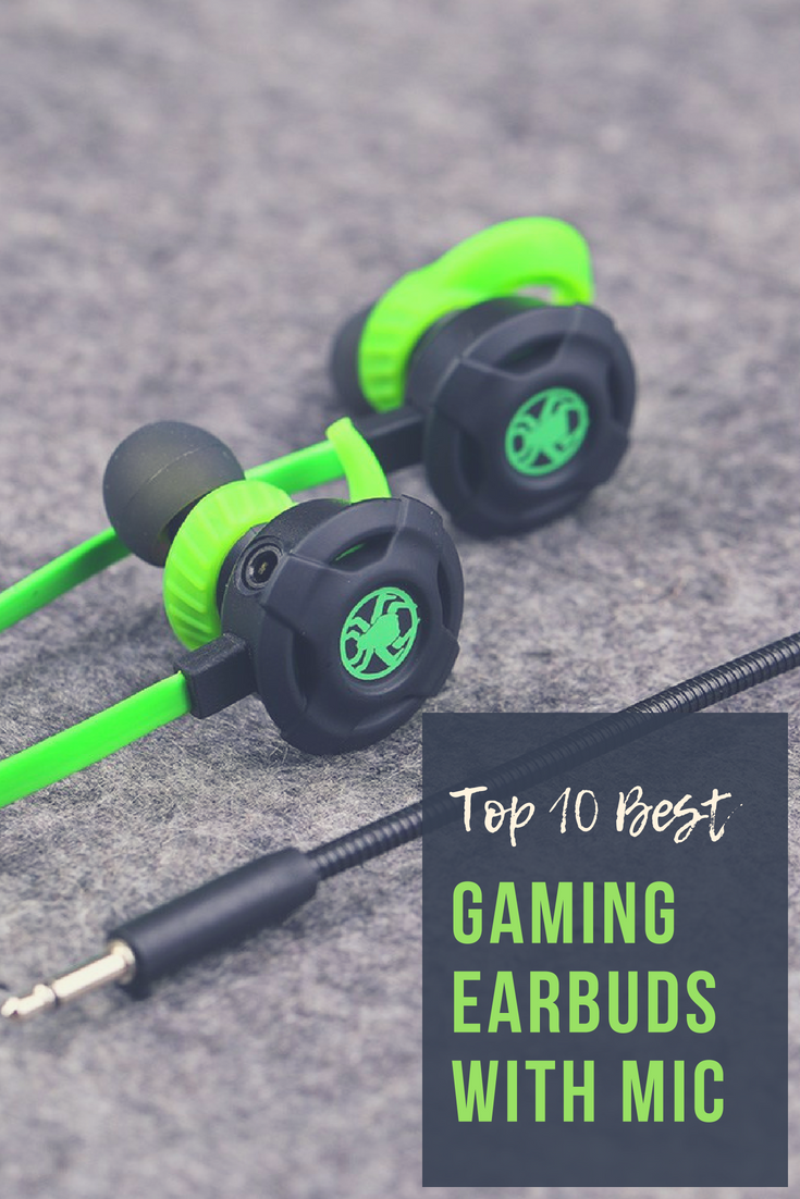 7b8b7b7b601 The Top 10 Best Gaming Earbuds with Mic — ANIME Impulse ™