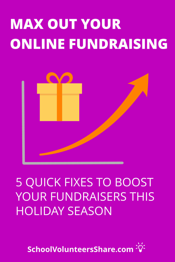 """5 fixes to max out your online fundraising for your school. Nothing beats getting paid for what you're already doing, especially when it's shopping! So, it's no surprise that PTOs / PTAs usually promote several """"shop to earn"""" or """"school rewards"""" type fundraisers to earn as much """"free money"""" for their schools as possible. Make sure your fundraisers are maxed out. #PTO #SchoolVolunteersShare"""
