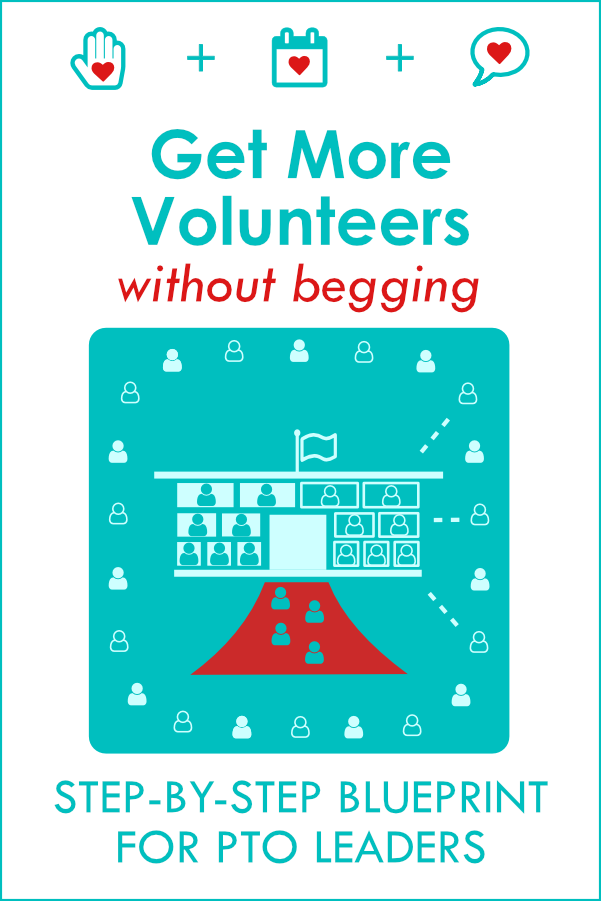 Get More PTO Volunteers Without Begging: free volunteer recruitment video training for PTO leaders