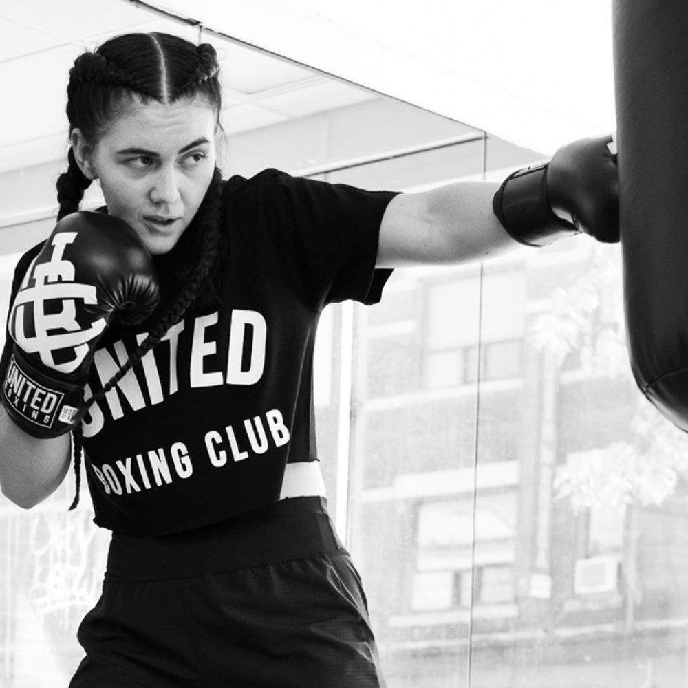Start Training - After getting all your equipment, download our app, start booking classes and keep up with your in-home shadow boxing!