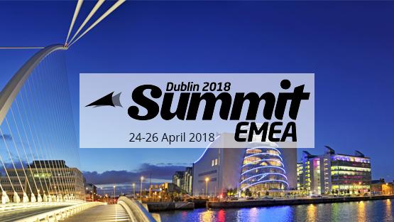 Dynamics 365 User Group Summit EMEA, 24 to 26 April 2018 in Dublin, Ireland