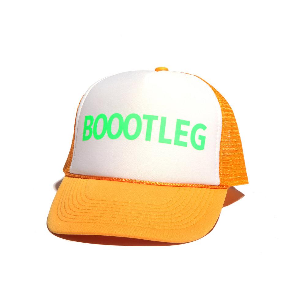 BOOOTLEG MOTHERTRUCKER NEON HAT