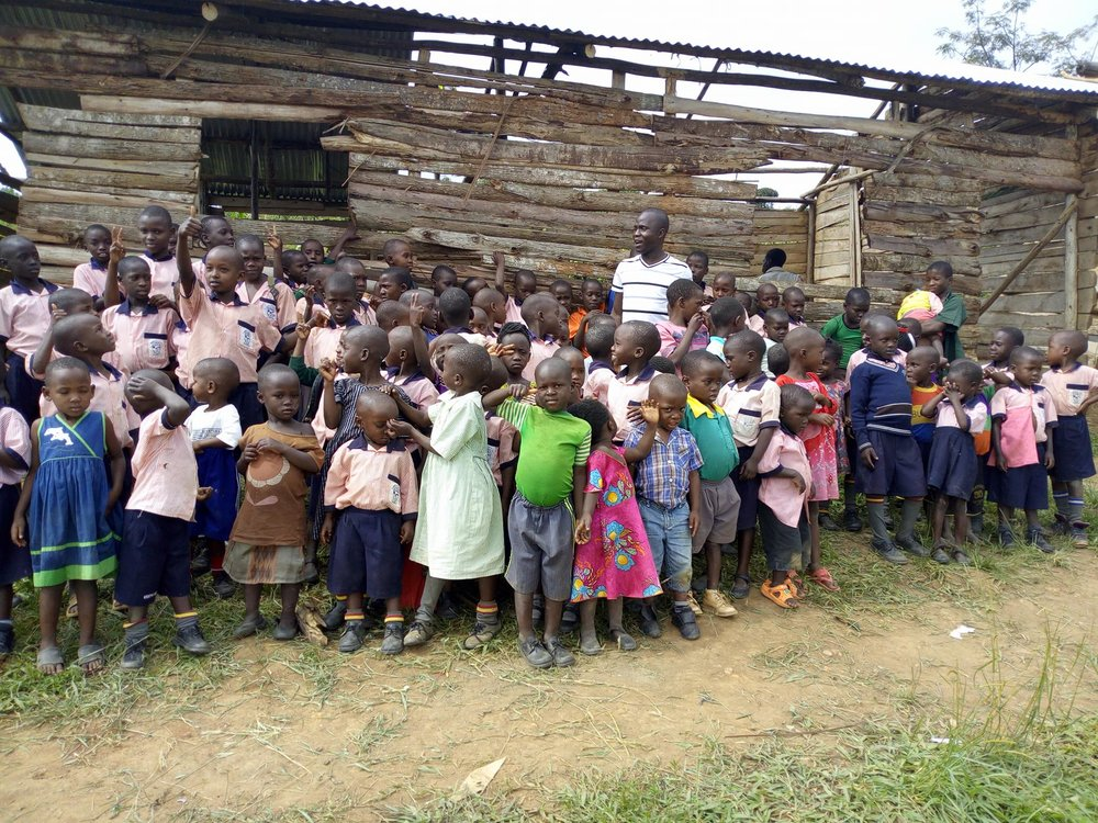 Still Hope Uganda Orphanage  - Aspire To Be International was privileged to donate money to this ministry to provide a new roof for the home and school for 150 orphans in Uganda. This is the picture we received 72 hours after we made our donation. This is the power of giving through your business and making it part of your ongoing strategy to serve.
