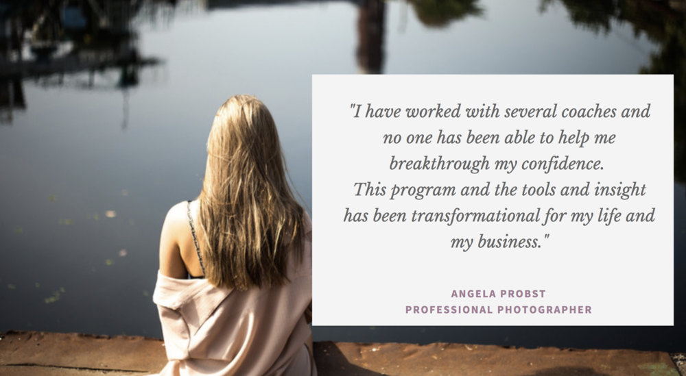 Angela is CEO of her own business and a 30 year veteran of photography, and she provides an experience of a lifetime for her clients (not just photos). -