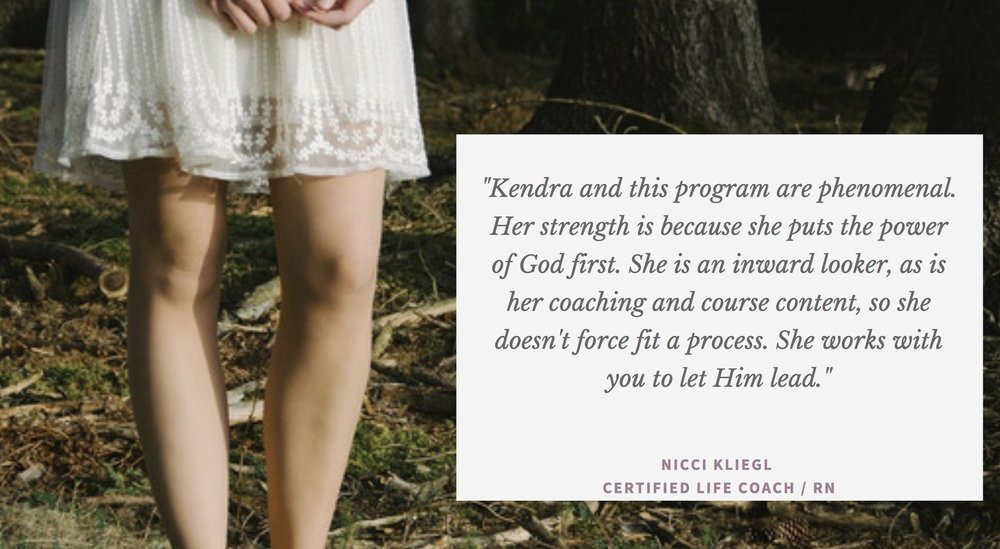 Nicci is a Life Coach, Registered Nurse, Speaker, and Author who helps women in Christ through workshops, retreats, and group coaching. -