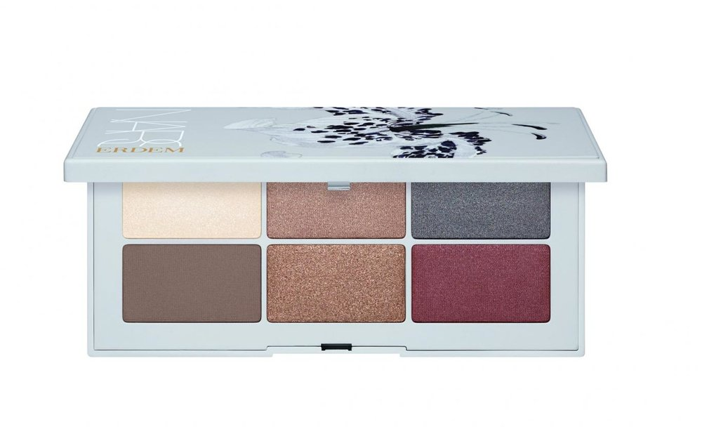 Erdem I NARS Eyeshadow Palette in Fleur Fatale.   We love the diversity of a NARS palette. Especially when it's a fashion collaboration. You can go warm-toned, cool-toned, or totally out of your comfort zone with burgundy.