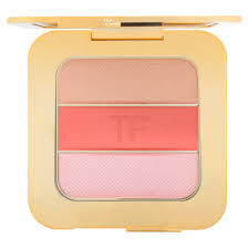 "Soleil Contouring Compact in Nude Glow.        There is a new shade of the Soleil Contouring Compact in Nude Glow. The shades in this palette are a soft powdery gold champagne, soft peach and pale pink glow. Apply this over your normal foundation or concealer for that extra pop of ""I just went to the beach"" written all of your face without having to go."