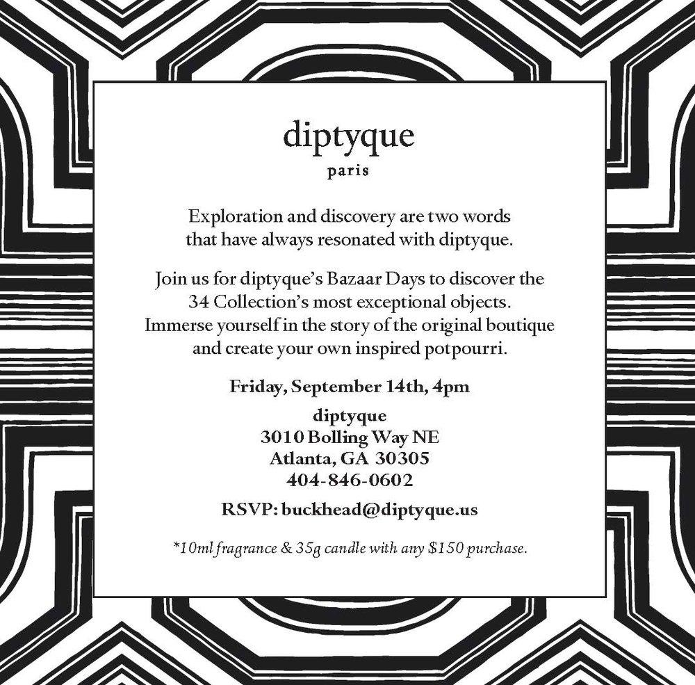 90b2db4ea29 Discover the 34 Collection at diptyque — The Shops Buckhead Atlanta