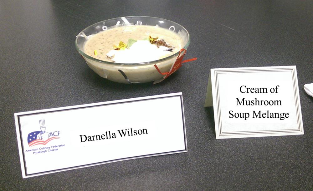 Darnella Wilson's Cream of Mushroom Soup Melange