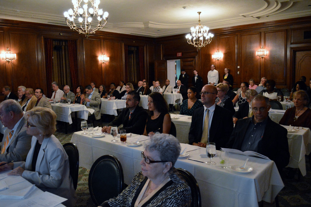 1 Nearly 60 people attended the meeting at the Duquesne Club..JPG