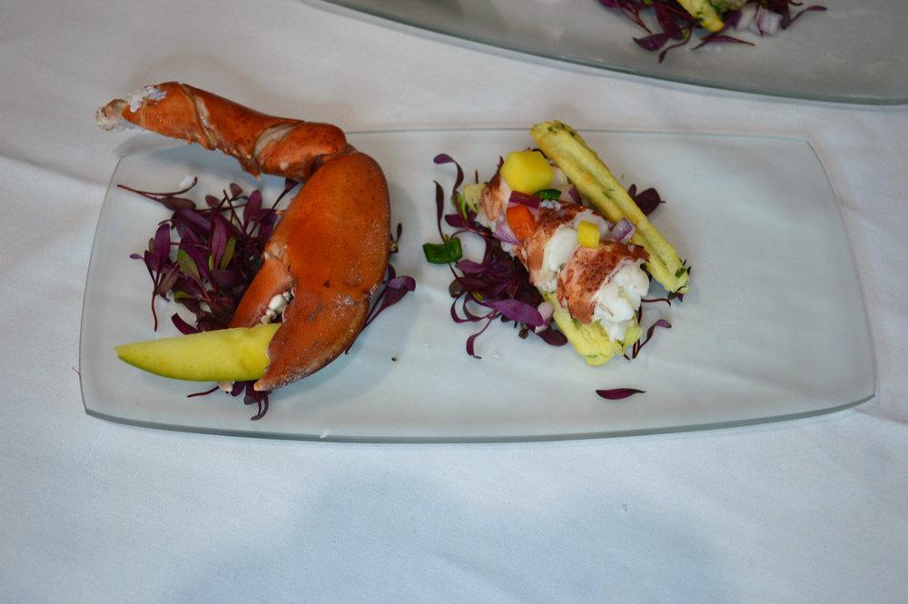 4 Alex Dumnich's Lobster Roll Profiterole. Alex is a student at Bidwell.JPG