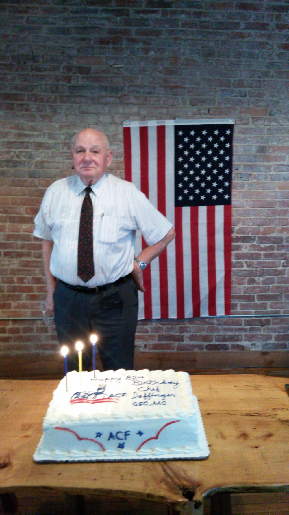 Willi Daffinger celebrating his 82nd birthday!
